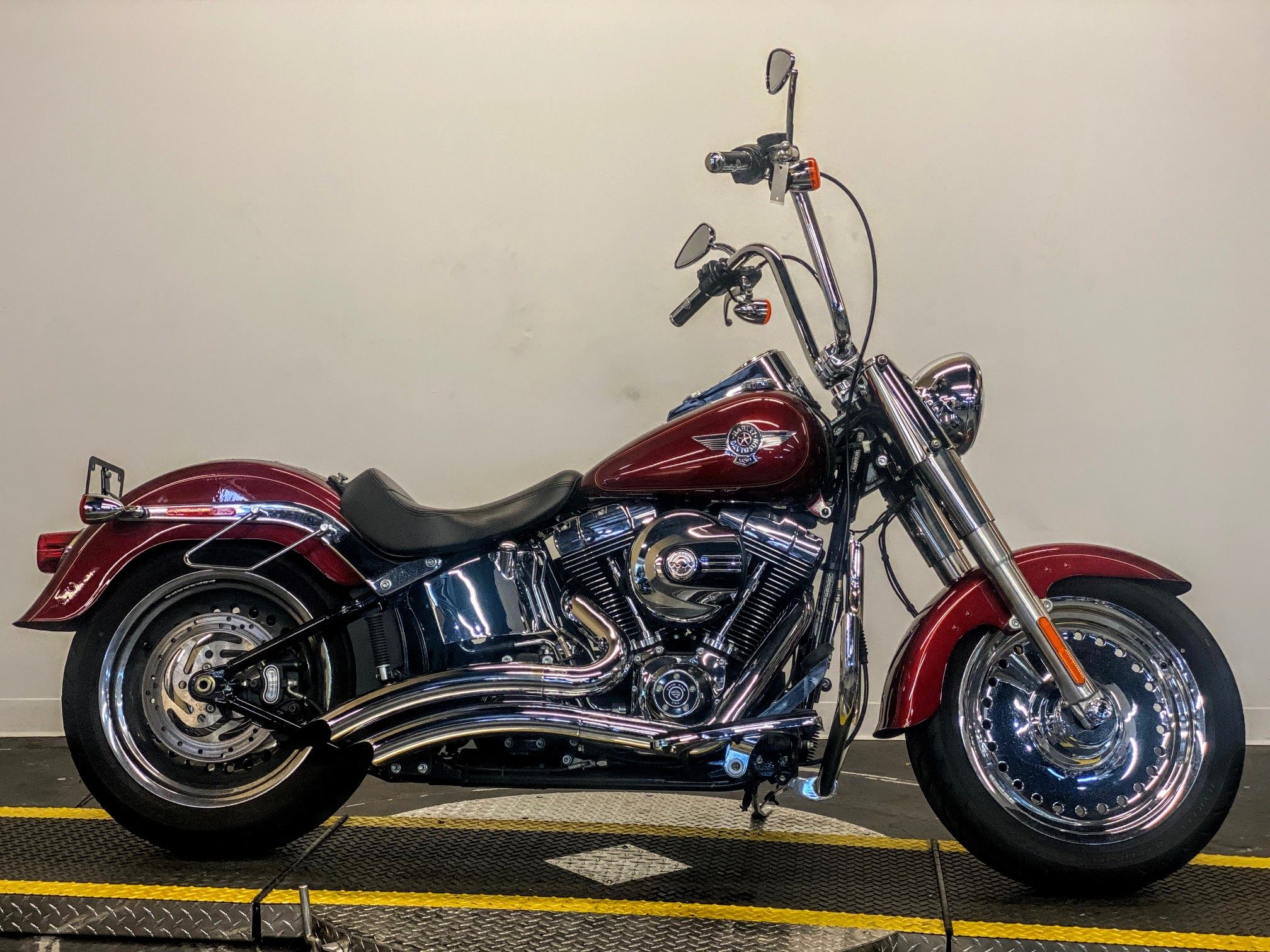 Pre-Owned 2017 Harley-Davidson Fat Boy FLSTF