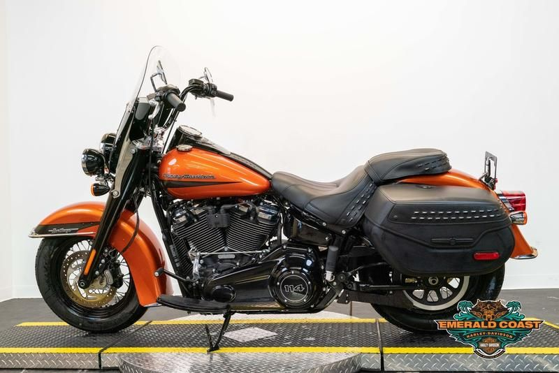 Pre-Owned 2020 Harley-Davidson Heritage Classic 114 FLHCS